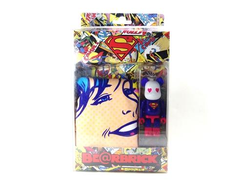 SUPERMAN ボクサーパンツ ベアブリック(BE@RBRICK)