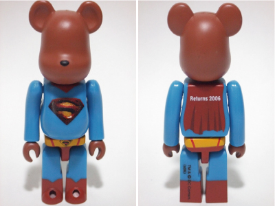 SUPERMAN RETURNS 100% ベアブリック(BE@RBRICK)
