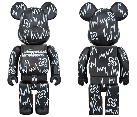 The Chemical Brothers 400% ベアブリック (BE@RBRICK)