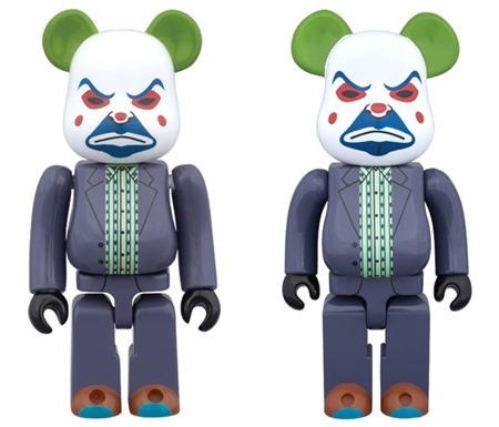 THE JOKER BANK ROBBER Ver 100% 400% ベアブリック (BE@RBRICK)