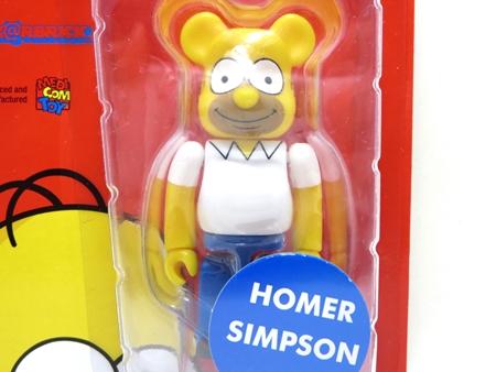 ザ・シンプソンズ Homer Simpson ベアブリック (BE@RBRICK)