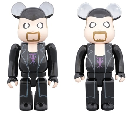 WWE The Undertaker 100% 400% ベアブリック (BE@RBRICK)