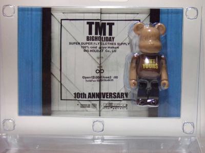 TMT 10th ベアブリック(BE@RBRICK)