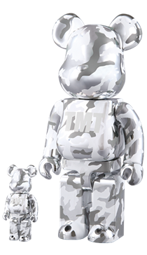 TMT CAMOUFLAGE 100% ベアブリック(BE@RBRICK)