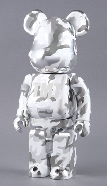 TMT CAMOUFLAGE 400% ベアブリック(BE@RBRICK)