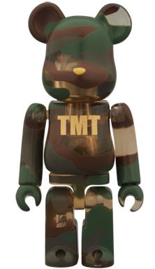 TMT スケルトンカモフラージュ ベアブリック(BE@RBRICK)