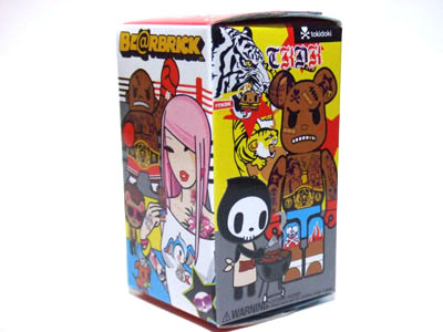 Tokidoki Fighter 100% ベアブリック(BE@RBRICK)