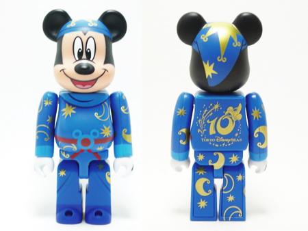 東京ディズニーシー 10th Anniversary MICKEY MOUSE ベアブリック(BE@RBRICK)