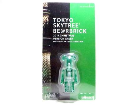 TOKYO SKYTREE クリスマス ver GREEN ベアブリック (BE@RBRICK)