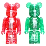 TOKYO SKYTREE クリスマス ver GREEN ベアブリック (BE@RBRICK)