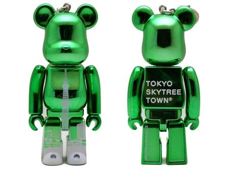 東京スカイツリータウン グリーン ベアブリック(BE@RBRICK)