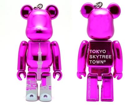 東京スカイツリータウン ピンク ベアブリック(BE@RBRICK)