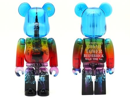 東京タワー MAGIC TIME Ver ベアブリック(BE@RBRICK)