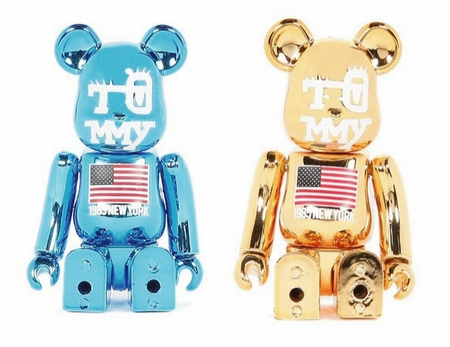 TOMMY 100% 2種 ベアブリック(BE@RBRICK)