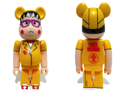 TOWER RECORDS MARUKO BAND ベアブリック(BE@RBRICK)