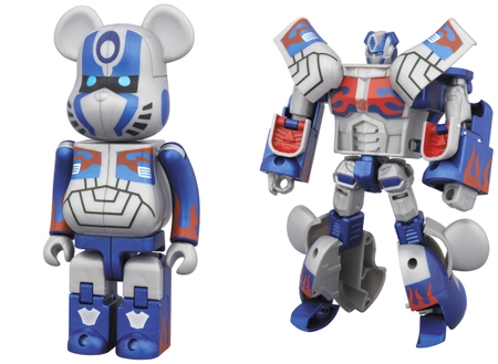TRANSFORMERS OPTIMUS PRIME AGE OF EXTINCTION Ver 200% ベアブリック (BE@RBRICK)