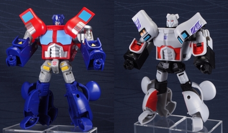 TRANSFORMERS OPTIMUS PRIME & Megatron 200% ベアブリック (BE@RBRICK)