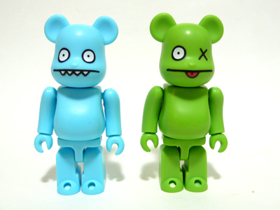 UGLYDOLL ICE-BAT & OX Adventure 2pc ベアブリック(BE@RBRICK)