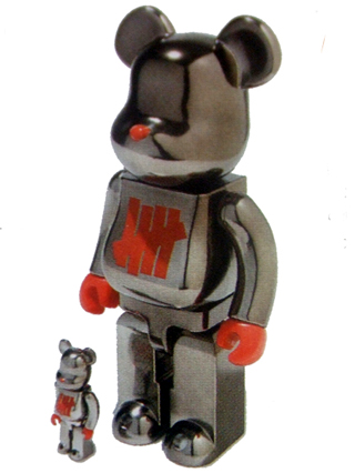 UNDEFEATED FULL METAL JACKET 100% & 400% ベアブリック(BE@RBRICK)