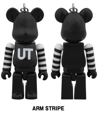 UNIQLO UT 2014 ARM STRIPE 70% ベアブリック (BE@RBRICK)