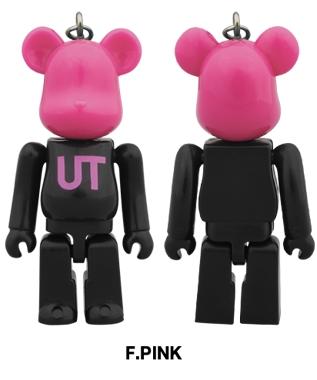UNIQLO UT 2014 F.PINK 70% ベアブリック (BE@RBRICK)