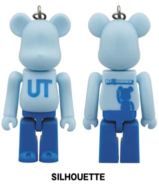UNIQLO UT 2014 SILHOUETTE 70% ベアブリック (BE@RBRICK)