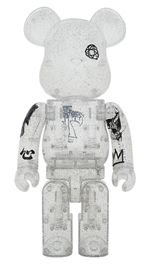 UNKLE CLEAR 400% ベアブリック(BE@RBRICK)