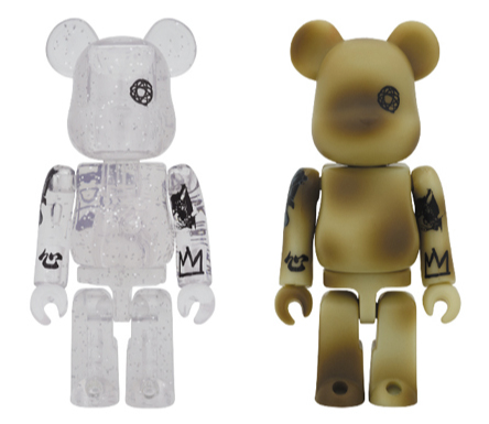 UNKLE CLEAR & CAMOUFLAGE 100% ベアブリック(BE@RBRICK)