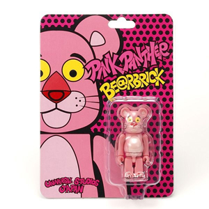 USJ限定 ピンクパンサー(Pink Panther) 100% ベアブリック(BE@RBRICK)