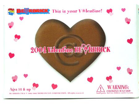 Valentine 2004 ベアブリック(BE@RBRICK)