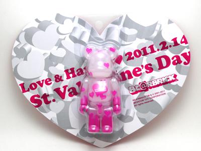 Valentine 2011 ベアブリック(BE@RBRICK)