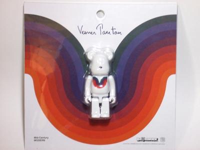 Verner Panton CURVE ホワイト ベアブリック(BE@RBRICK)