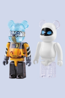 WALL・E & EVE 2pc ベアブリック(BE@RBRICK)