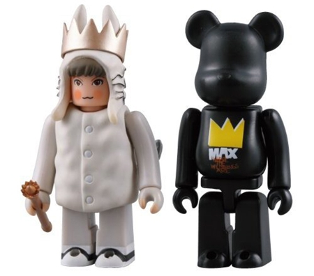 Where The Wild Things Are(かいじゅうたちのいるところ) 2pc ベアブリック(BE@RBRICK)