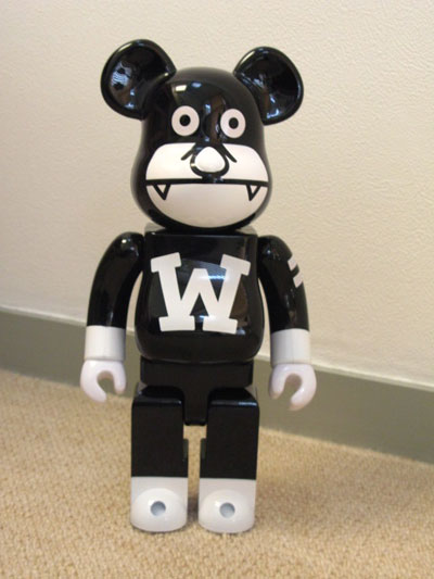 WONDERFULMAN 400% ベアブリック(BE@RBRICK)