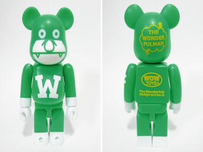 WONDERFULMAN ZIRO ベアブリック(BE@RBRICK)