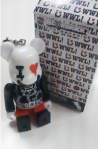 WORLD WIDE LOVE I LOVE ROCK ベアブリック(BE@RBRICK)