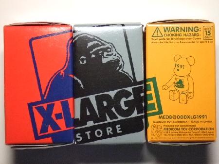 X-large 1991 100% ベアブリック(BE@RBRICK)