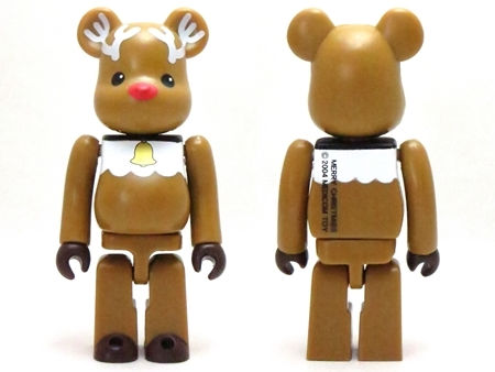 X'mas TWIN CANDLE 2004 ベアブリック (BE@RBRICK)