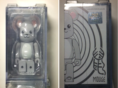 YEAR OF MOUSE 100% ベアブリック(BE@RBRICK)