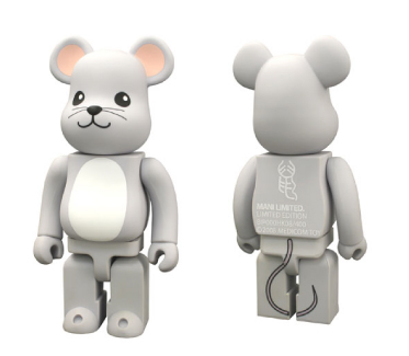YEAR OF MOUSE 400% ベアブリック(BE@RBRICK)