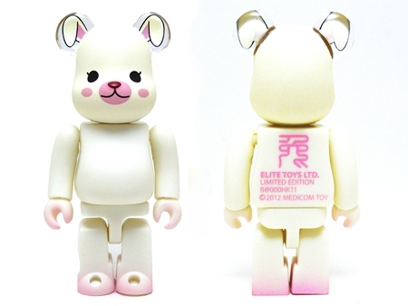 YEAR OF RABBIT 100% ベアブリック(BE@RBRICK)