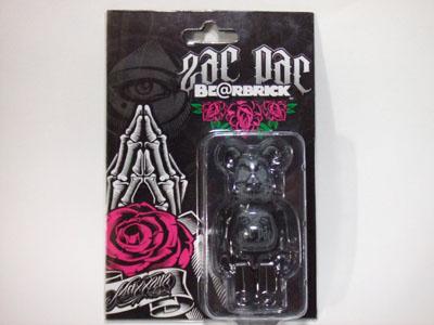 ZacPac BAD TOWN 100% ベアブリック(BE@RBRICK)