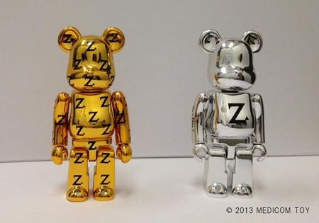 Zikzin 2種 100% ベアブリック(BE@RBRICK)