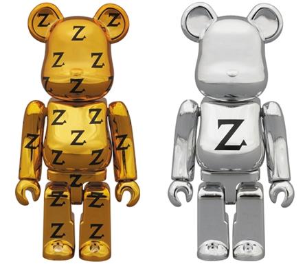 Zikzin 2種 100% ベアブリック (BE@RBRICK)