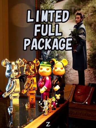 Zikzin LIMITED FULL PACKAGE ベアブリック (BE@RBRICK)
